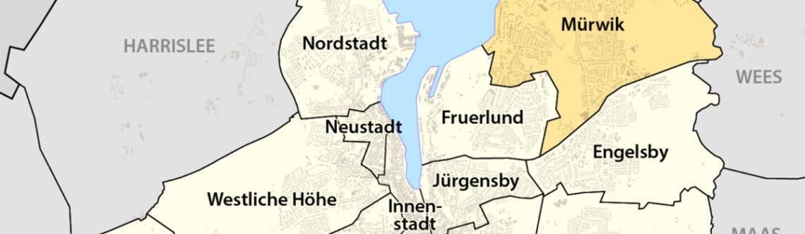 Stadtteile in Flensburg